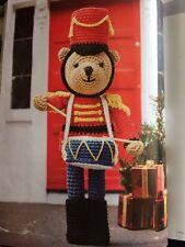C2 - Nutcracker Drummer Boy Bear Crochet Pattern - Christmas