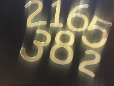 Mirror Art Craft Silver Acrylic Letters and Numbers 5.0 cm
