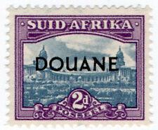 (I.B) South Africa Revenue : Customs Duty 2d (small format)