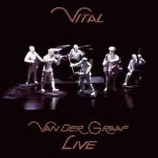 "VAN DER GRAFF GENERATOR ""VITAL-LIVE"" 2 CD NEW+"