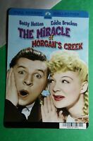 THE MIRACLE OF MORGAN'S CREEK HUTTON  MINI POSTER BACKER CARD (NOT a movie dvd )