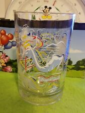 Disney Glass Cup 25th Anniversary Magic Blizzard Beach Typhoon Lagoon