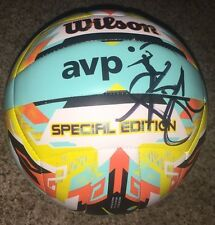 Kerri Walsh Jennings Signed Wilson AVP Special Edition Beach Volleyball w/ proof