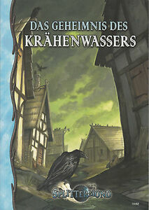 Splittermond: Das Geheimnis des Krähenwassers (Abenteuerband), Rollenspiel, NEU