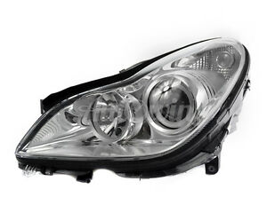MERCEDES BENZ CLS W219 XENON HEADLIGHT LEFT SIDE ASSEMBLED GENUINE OEM NEW
