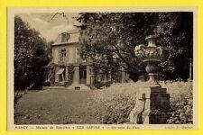 cpa Lorraine 54 - NANCY Rue Alix Le Clerc MAISON de Retraite Hospice LES SAPINS