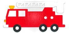 Sizzix Bigz L Fire Truck #2 die #A11235 Retail $29.99 Cuts fabric, FUN Applique!