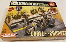 The Walking Dead Building Set Daryl With Chopper Mcfarlane Toys NEW 154 pcs TWD