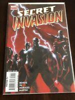 Secret Invasion #1 NM 2008 Marvel Comics Skrulls Disney+ Optioned Bendis Hot Key