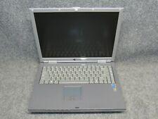 "Gateway M350Wvn 15"" Laptop Intel Pentium M 2.66Ghz 512Mb Ram No Hdd"