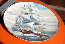 """Danbury Mint Plate Great American Sailing Ships The """"Sea Witch"""" Classic"""
