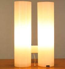 Doria Wand Lampe Glas Säulen Leuchte 60er Jahre Vintage Wall Lamp H34cm