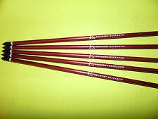 """5 x 16"""" Ek Archery Research Pernos de ballesta 2018, Flechas aluminio"""