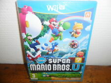 (New) New Super Mario Bros U - Nintendo Wii U - PAL