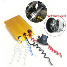 Aluminum Automatic Controller Switch for 12V Car Turbine Electric Turbo Charger