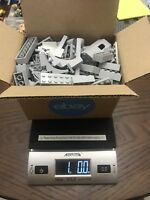 1 POUND LIGHT GRAY LEGOS LOT Mix Bricks parts Random 100% Lego pieces Star Wars