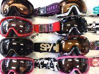 NEW Spy Optic BIAS Winter Ski & Snow Boarding Goggles - Various combos - NEW !!