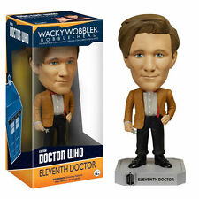 Doctor Who undécima médico FUNKO WACKY WOBBLER BOBBLE HEAD Figura Juguete