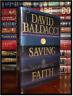 Saving Faith ✎SIGNED✎ by DAVID BALDACCI Mint Hardback 1st Edition First Printing