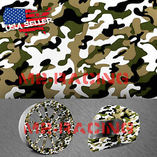 "19""x78"" Hydrographic Film Hydro Dipping Water Transfer Woodland Camouflage #9"