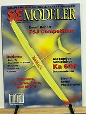 Sailplane & Electric Modeler- R/C Airplane Glider -7th Year-missing issues