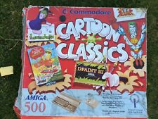 Commodore Amiga A500 with memory expansion Boxed Cartoon Classics
