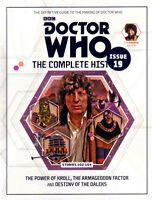 DOCTOR WHO The Complete History #19 NEW