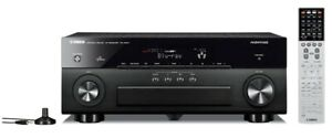 Yamaha RX-A820 Aventage 7.2 4k Upscaling DTS-HD Dolby True-HD AirPlay