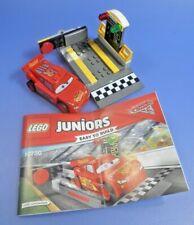 LEGO Juniors Disney Lightning McQueen Cars Speed (10730), komplett mit Anleitung