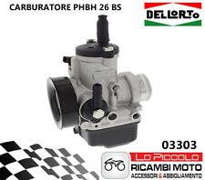 03303 Carburetor Dellorto Phbh 26 BS 2T Air Manual Universale Motorbike/Scooter