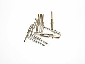 100 Deutsch DT #16 Solid Contact Terminals male pins for 16-18-20 gauge wire