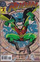 Robin #1 (Nov 1993, DC) Signed by Artist Tom Grummett 0823/7500
