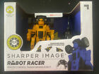 Sharper Image Robot Racer Wireless Remote Control  Transforming Robot New!