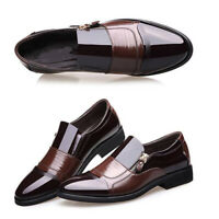 Fashion Men's Formal Leather Shoes Business Formal Casual Loafers Office Shoes