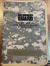 National Guard Small Portfolio Notepad Holder Digital Camo Never Used