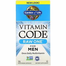 Vitamin Code Raw One Daily Multi-Vitamin For Men by Garden of Life - 75 Vcaps