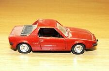Vintage Solido 1:43 Fiat X1/9 Maroon Red - Lovely Rare Model
