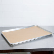 Unbleached Natural Brown Parchment Paper Baking Sheets Pan Liner 16x24 50 Pack