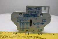 Eaton Cutler Hammer C320KGS Freedom Series Side Mount Aux 1NO 1NC Ser. A2