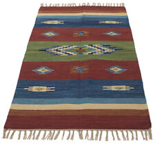 180x120 CM Kilim Original, authentisch handgemacht Cotton Baumwolle EASY TO CLEA