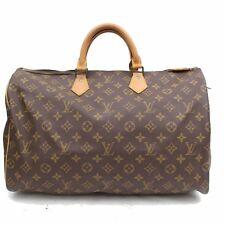 Originale Louis Vuitton Borsetta Speedy 40 M41522 Marrone Monogramma 308228