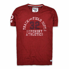 Superdry Herren T-Shirt Shirt Gr.XXL (wie XL) Track & Field Mehrfarbig 92862