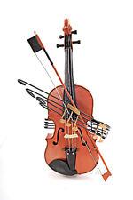 "Violin Fiddle Metal Scale Model 19.5"" Music Instrument Home Decor Centerpiece"