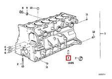 Genuine BMW E34 E36 E38 E39 E46 E60 E85 Oil Spraying Nozzle OEM 11421748199