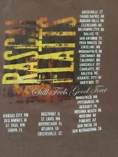 RASCAL FLATTS 2007 Still Feels Good Tour Concert Medium Short Sleeve T-Shirt Tan