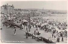 WEYMOUTH BAY DORSET UK~SEWARD SERIES REAL PHOTO POSTCARD 1920s