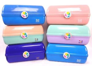 Caboodles On The Go Girl Classic Retro Vintage Makeup Travel Case Rare Cosmetics