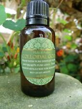 Colloidal Gold 40ppm 50ml 99.99% Pure Gold Bioavailable Small Nanoparticle Size
