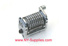 """3/16"""" Rotary 8 Digit Straight Backwards Numbering Machine for Morgana Standard"""