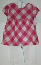 Girls Sz4T 2Pc Set-Leggings And Ss Blouse Style Top by Carter'S-New With Tags
